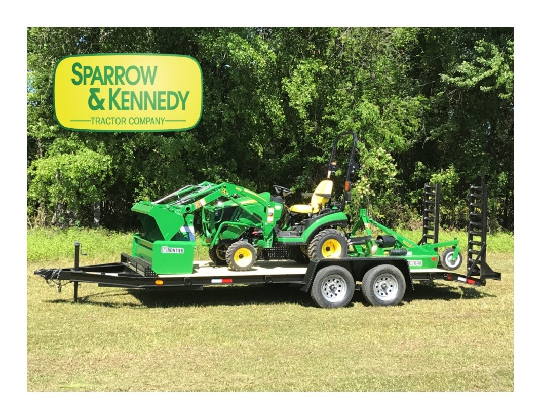 Sparrow & Kennedy Tractor Packages With Unique Attachments
