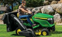 JD ridingmowerattach X300Series